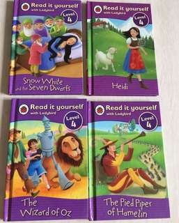 Set of 4 Read it yourself with ladybird (Level 4)