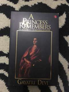 "Repriced!! Brand New ""A Princess Remembers"" book"