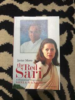 "Repriced!! Brand New ""The red sari"" book"