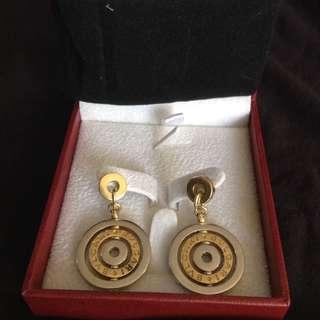 Bold Bvlgari earrings