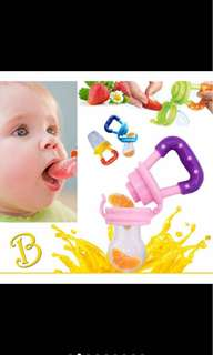 Baby food fruits feeder baby bite pacifier