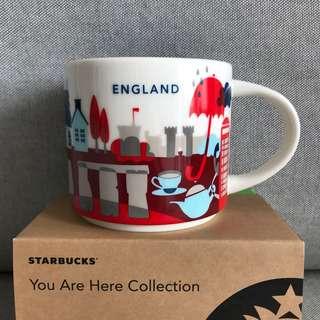 Starbucks You Are Here Series Mug- England