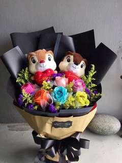 Flower Bouquet (7colours Flower)