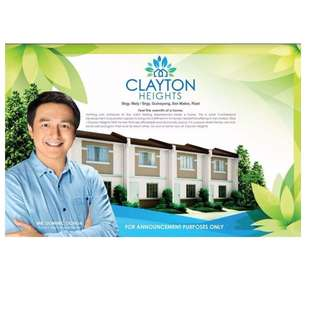 MURANG BAHAY AVAIL NA! LIMITED UNITS LEFT! Clayton heights san mateo