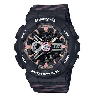 BA-110CH-1ADR BA-110CH-1A Brand New Casio Baby-G Chance Punto It Quartz 100m World Time 100% Original Analog Digital Womens Sports Watch w/ Warranty