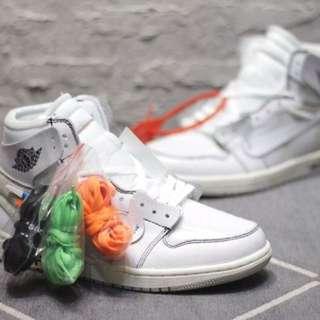 Nike Air Jordan 1 x Off White 'White'