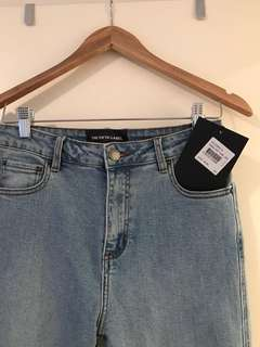 The Fifth Label Roundhouse Crop Flare Jeans.