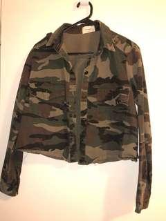 Korean camo jacket