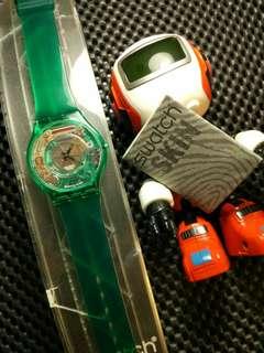 Swatch Skin SFG100 Green Jelly (thn 2000)
