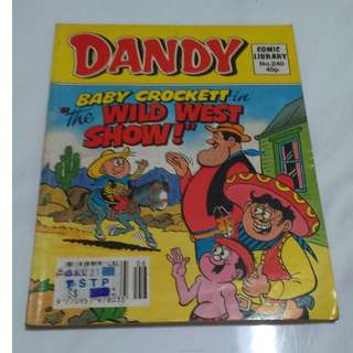 Dandy's Collectible Comic!