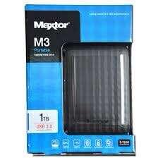 Maxtor 1tb external hardisk