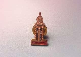 Hog Kong pin (tst clock tower)香港尖沙咀鐘樓襟針