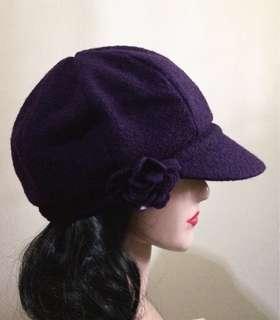 Beret purple