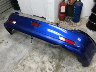 TOYOTA CALDINA REAR BUMPER WITH FOGLAMP