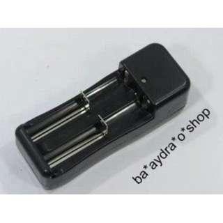 1628937 2粒 18650 充電器 Lithium battery charger