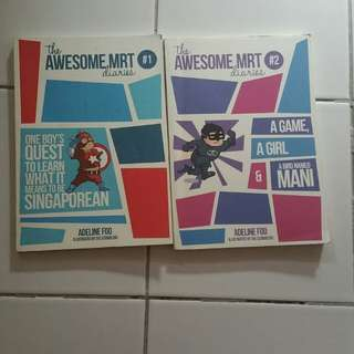 [FREE] The Awesome MRT Diaries by Adeline Foo