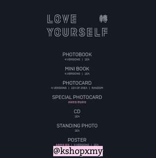 BTS 3rd Mini Album - Love Yourself ' Tear '