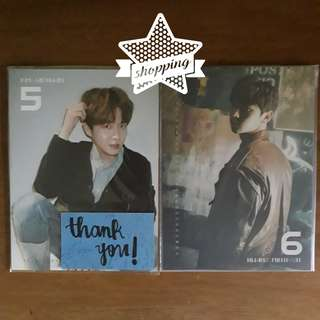 WANNA ONE 'NOTHING WITHOUT YOU' CALENDAR CARDS