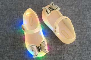 Mini Mel replica LED shoes