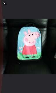 Peppa pig schoolbag