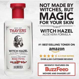 💓Thayers, Witch Hazel, Aloe Vera formula, Alcohol-free toner💓