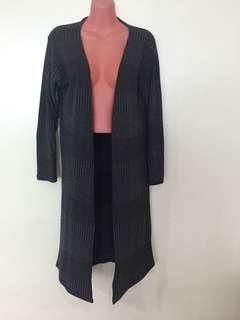 Extra Long Gray Maxi Knit Cardigan 😍