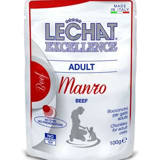 LeChat Excellence Manzo (Adult)