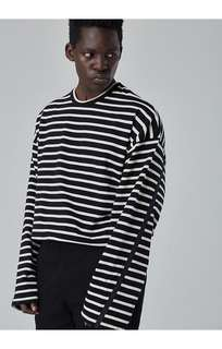 A0201 Striped Long Sleeve T-Shirt