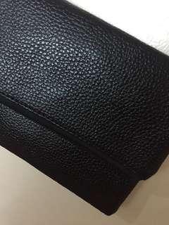 Texturized Leather Black Summer Sling Bag 🖤