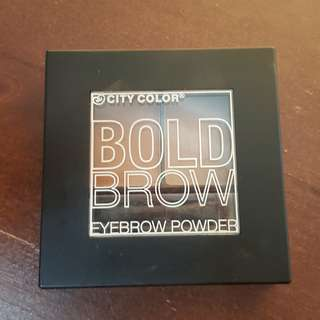 City Color Bold Brow Eyebrow Powder
