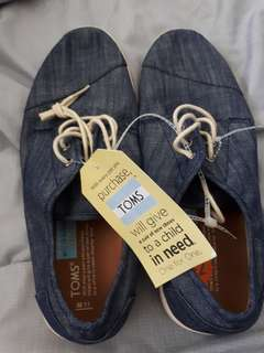 Toms mens denim shoea