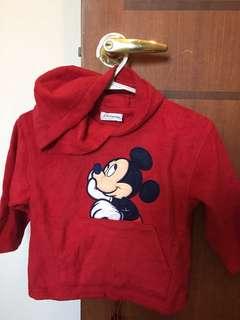 Disneyland Mickey fleece jacket