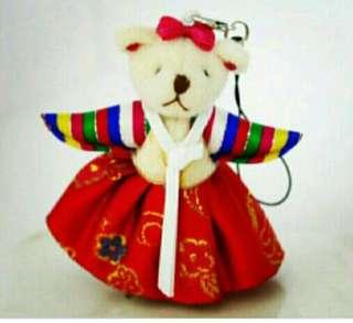 Korean Bear hanbok Craft