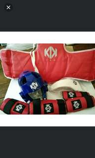 KIK TKD gear set
