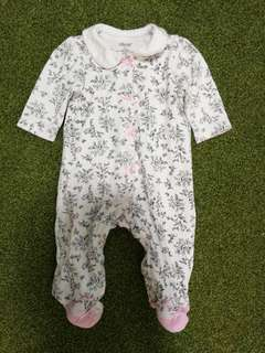 Little Me Baby Sleepsuit