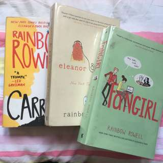 Rainbow Rowell Book Set