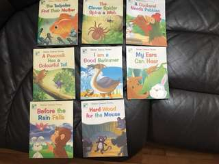 Science story books