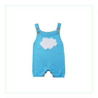 Knitted Cloud Jumpsuit