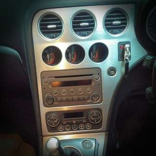 Alfa Romeo 159QV Stainless Steel Carbon Brushed Interior Trimmings