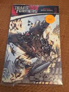 Transformers comic the reign of starscream