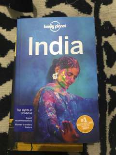 "Repriced!! Brand New ""Lonely Planet"" India Book"