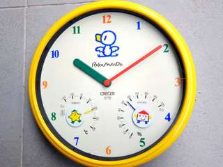 Roko Maeda wall clock 日本製藍小鴨仔掛牆鐘
