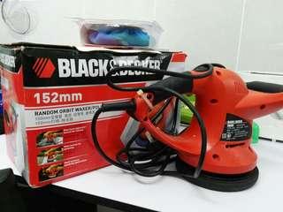 polisher machine black & decker
