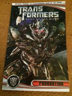 Transformers comic dark of the moon