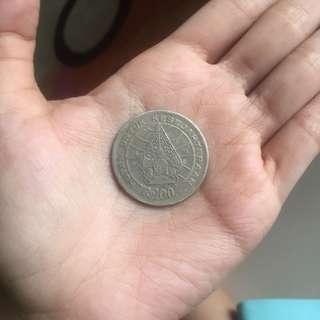 Uang Kuno 100 Rupiah Logam tahun 1978