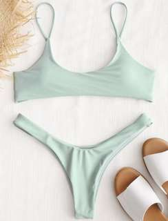 Zaful Bikini in Mint Size Medium