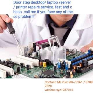 PC repaire service (Door steps)