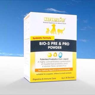 Naturalpet BIO-3 Pre & Pro Powder (2g x 30sachets)