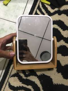 Repriced!! Brand New Bamboo Double Sided Mirror