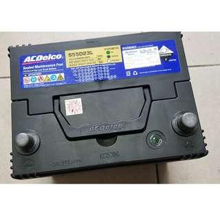 (二手中古電池) ACDelco S55D23L-免保養汽車電池 數值漂亮,品項優